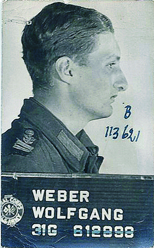 Wolfgang Weber's prisoner of war photo