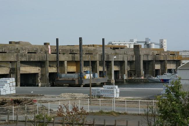 Uboat Base La Pallice Logistic La Rochelle Bunkersite Com